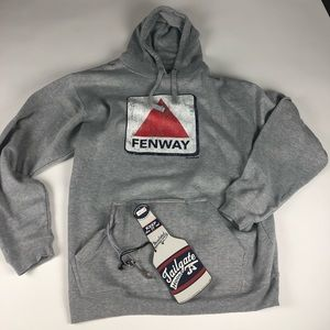 Other - Fenway tailgate hooded sweater xxl nwt